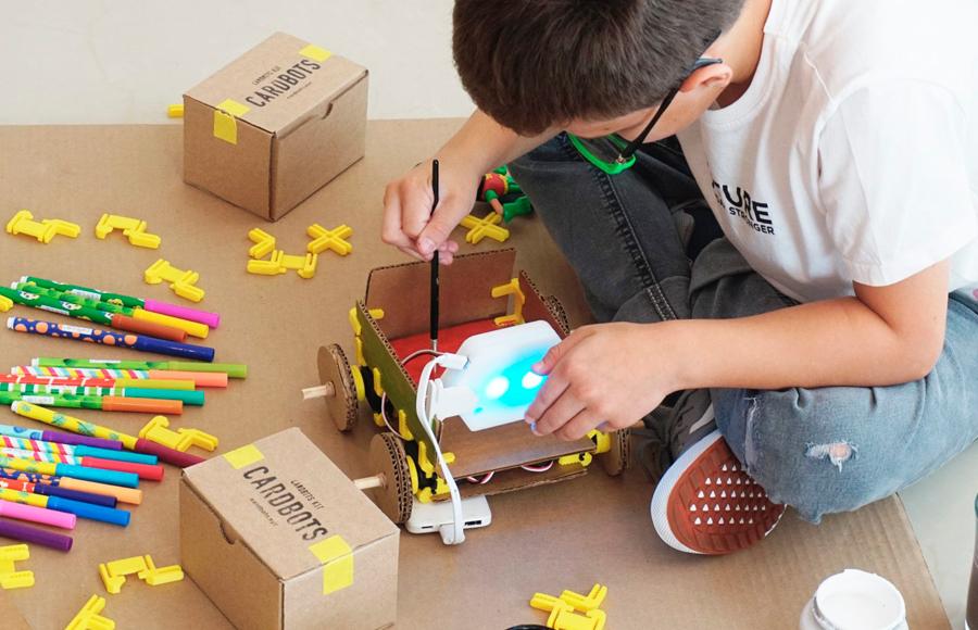 Taller virtual «Aprendiendo matemáticas con cartón»